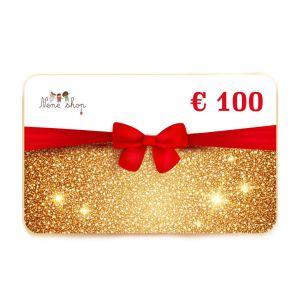 GOLD GIFT CARD 100€